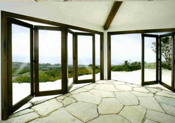 Folding Glass Doors : Art glass etc bi fold doors